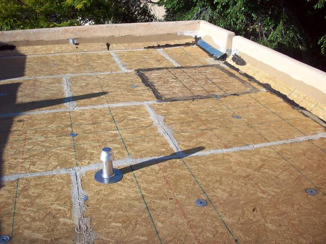 New Osb Roof Deck Hill Top Roofing